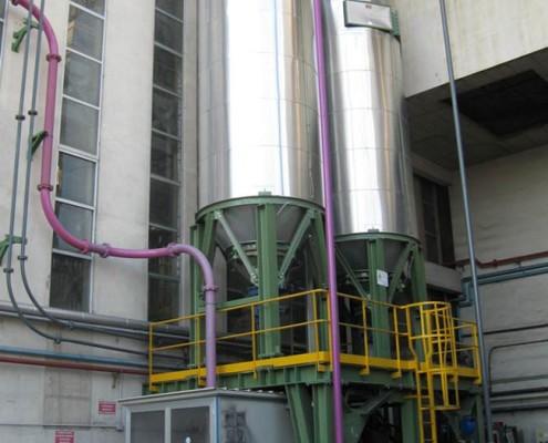 realizzazione impianto reagenti